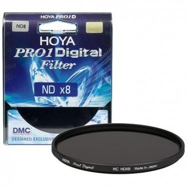Hoya 62mm Pro-1 Digital ND8 Screw in Filter