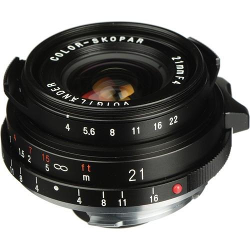 Voigtlander Color-Skopar 21mm F4.0 P Lens (Black)