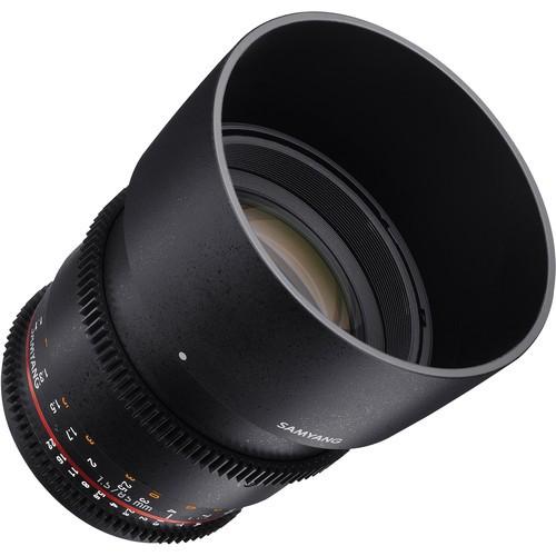 Samyang 85mm T1.5 VDSLRII Cine Lens for Pentax K