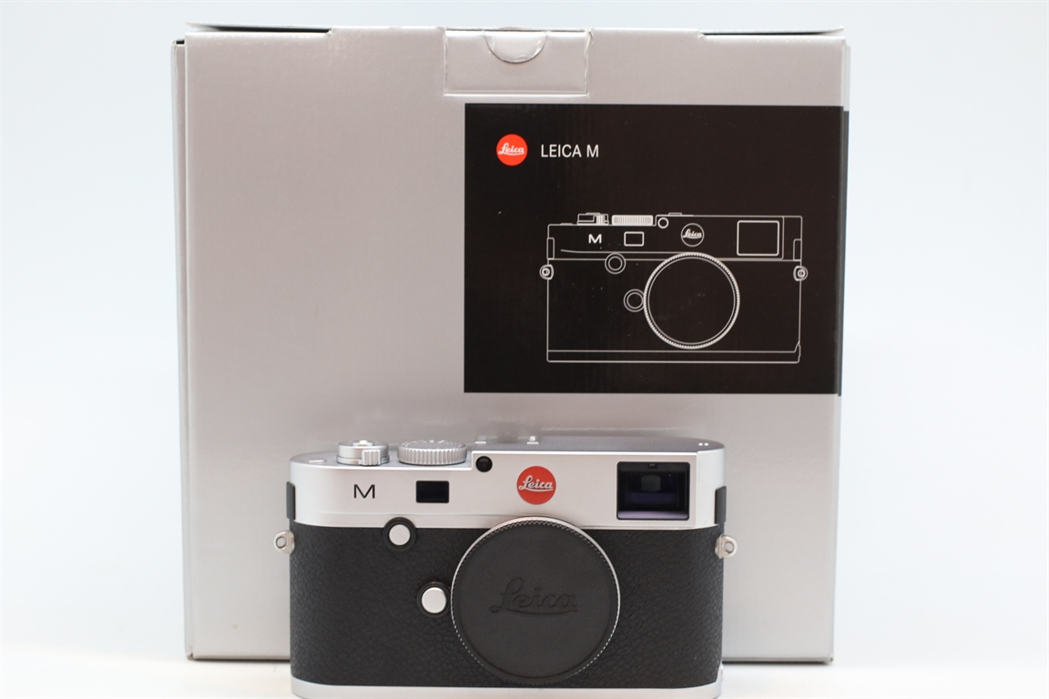 [USED-PUDU] LEICA M240 CAMERA BODY (SILVER) 95%LIKE NEW CONDITION  SN:4699775