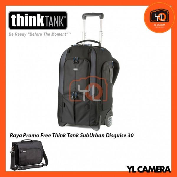 Think Tank Photo StreetWalker Rolling Backpack V2.0  ( Free Think Tank Photo Sub Urban Disguise 30 Shoulder Bag )