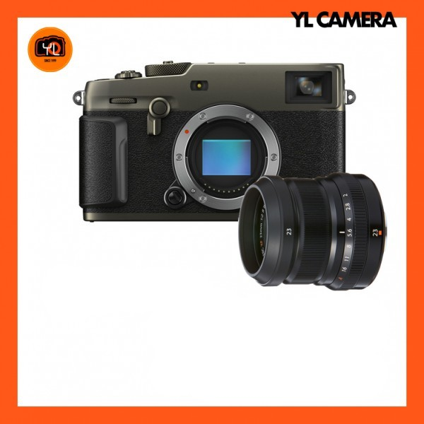 (Pre-Order) Fujifilm X-Pro 3 + XF 23mm F2 R WR (Dura Black)
