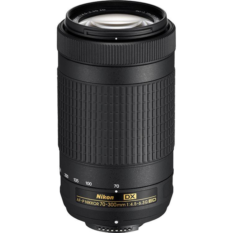 Nikon DX 70-300mm F4.5-6.3G ED VR AF-P