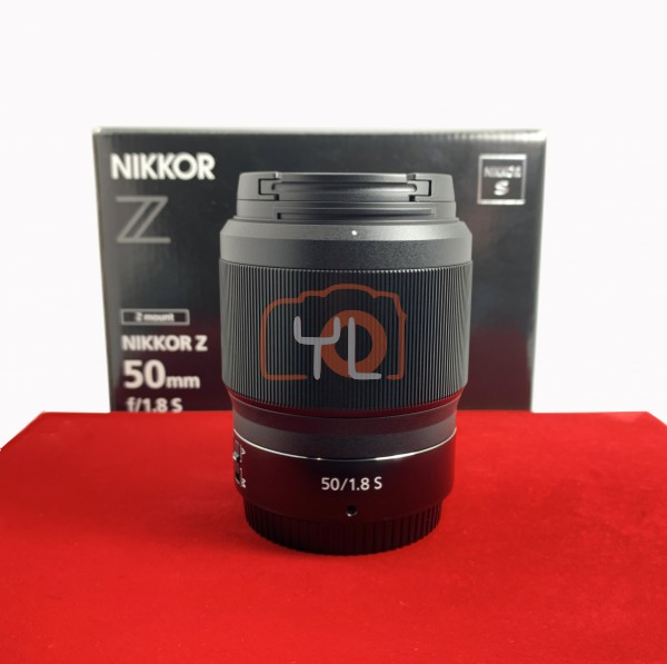 [USED-PJ33] Nikon 50mm F1.8 S Z Lens, 95% Like New Condition (S/N:20015868)