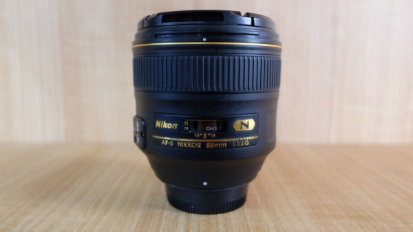 (USED YL LOW YAT)-Nikon AF-S 85mm F1.4G N Nikkor Lens,95% Condition Like New,S/N:218512
