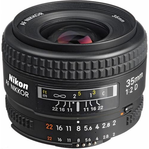 Nikon 35mm F2 AF D