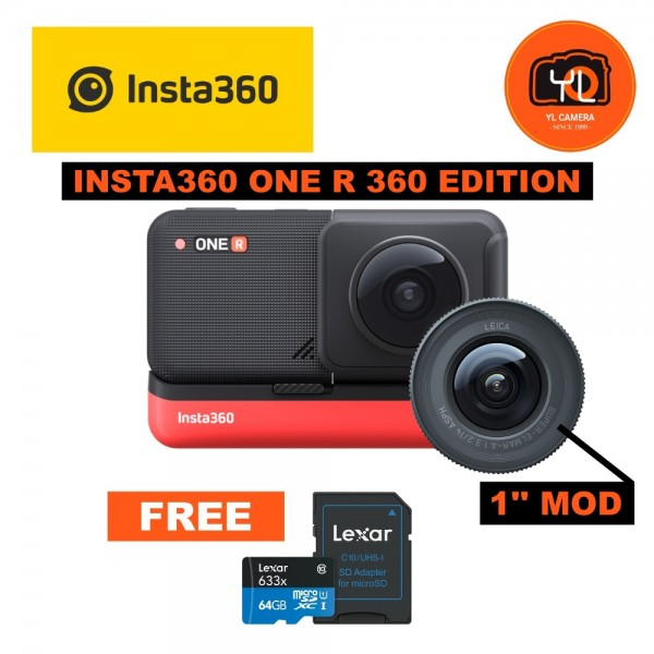Insta360 ONE R 360 Edition With 1