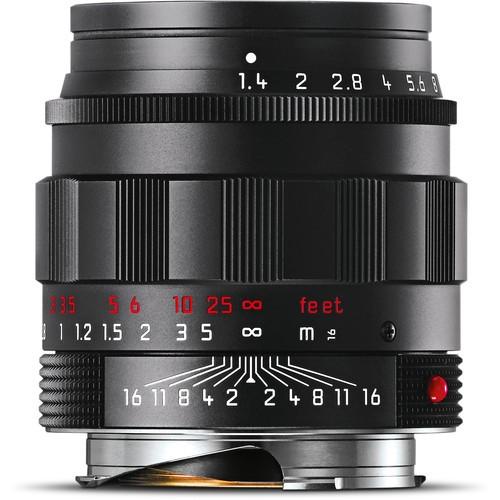 Leica 50mm F1.4 Summilux-M ASPH. - Black Chrome(11688)