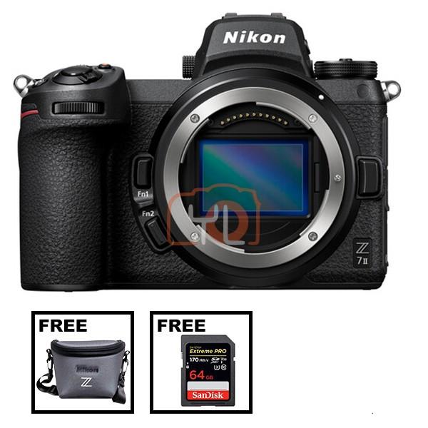 Nikon Z 7 II (Free Nikon Z Series Bag & 64GB SD Card)