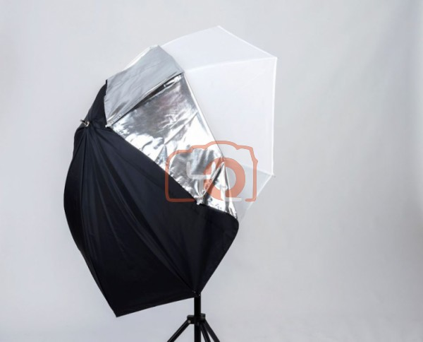 Lastolite All-In-One Umbrella 80cm Silver/White