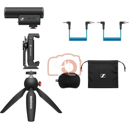 Sennheiser MKE 400 Camera-Mount Shotgun Microphone (Mobile Kit)