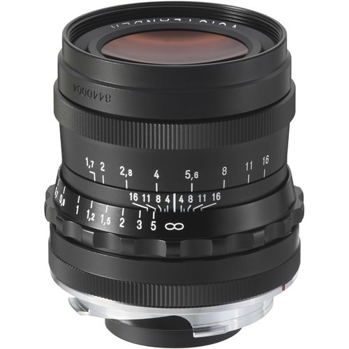 Voigtlander 35mm F1.7 Ultron Aspherical Lens - Black (For Leica M-Mount)
