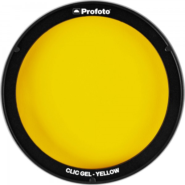 (PREORDER) Profoto Clic Gel Yellow