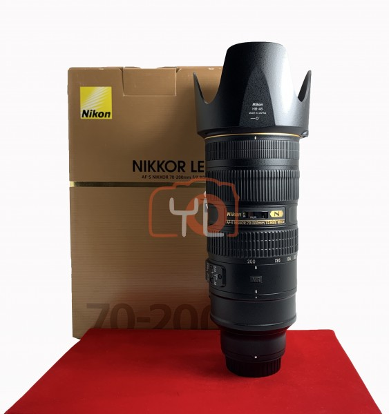 [USED-PJ33] Nikon 70-200MM F2.8 G VR II AFS, 95% Like New Condition (S/N:20367669)