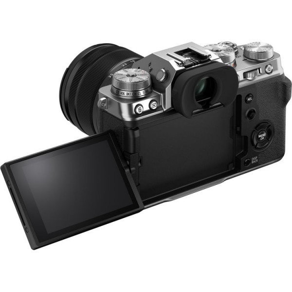 Fujifilm X-T4 + XF 18-55mm f/2.8-4R LM OIS - Silver ( Free 32GB UHS II Card , XF16-55mm Mug Cup , PU Strap )