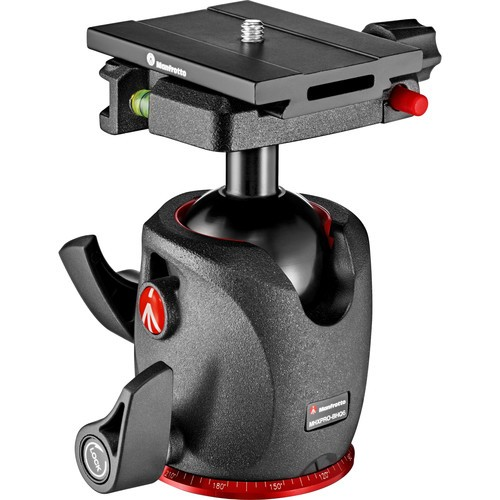 Manfrotto MHXPRO-BHQ6 XPRO Magnesium Ball Head with MSQ6PL Quick Release Plate