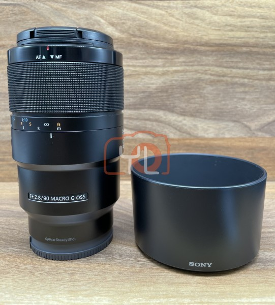 [USED @ YL LOW YAT]-Sony FE 90mm F2.8 Macro G OSS Lens,90% Condition Like New,S/N:1827760