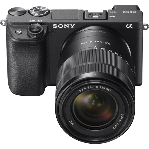 (PRE-ORDER) Sony a6400 (Black) + E 18-135mm F3.5-5.6 OSS [Free 64GB SD Card]