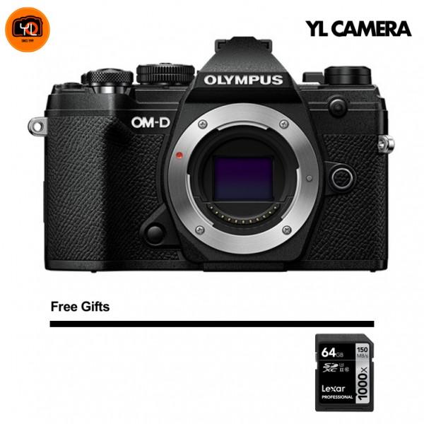 (CNY Offer) Olympus OM-D E-M5 Mark III - Black (Free Lexar 64GB SD Card 150MB/s)