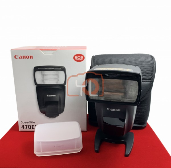 [USED-PJ33] Canon 470EX-AI Speedlite, 95% Like New Condition (S/N:1000103440)