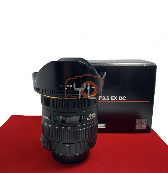 [USED-PJ33] Sigma 10-20MM F3.5 DC EX HSM (Nikon), 90% Like New Condition (S/N:13318698)
