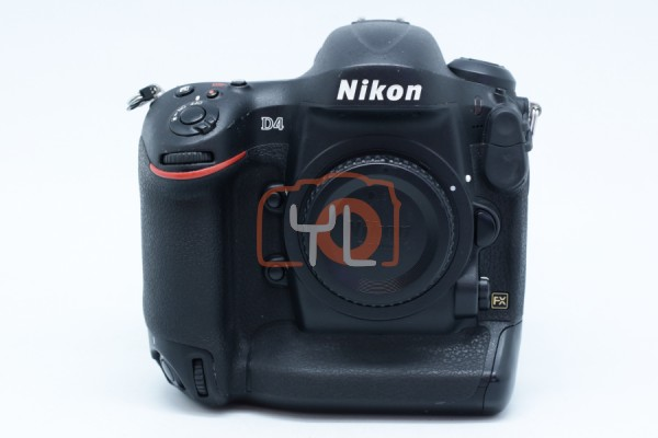 [USED-PUDU] Nikon D4 Body 88%LIKE NEW CONDITION SN:2040104