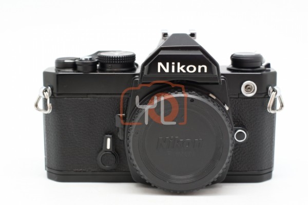 [USED-PUDU] Nikon FM Film Camera 90%LIKE NEW CONDITION (BLACK) SN:3137899