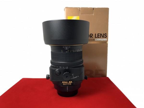 [USED-PJ33] Nikon 85MM F2.8D PC-E Micro (Tilt-Shift), 95% Like New Condition (S/N:204164)