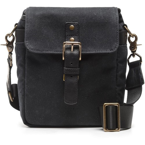 ONA Bond Street Waxed Canvas Camera Bag (Black)
