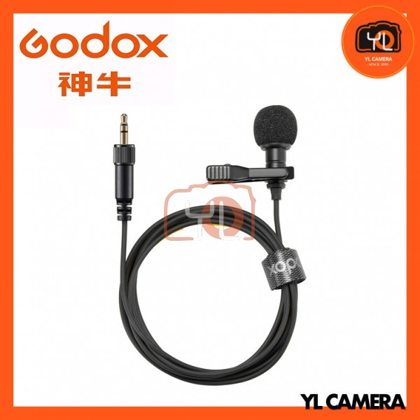 Godox LMS-12A AXL Omnidirectional Lavalier Microphone with Locking 3.5mm TRS Connector