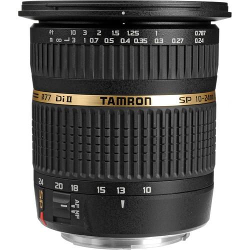 Tamron 10-24mm f / 3.5-4.5 SP AF DI II Zoom Lens Canon EF
