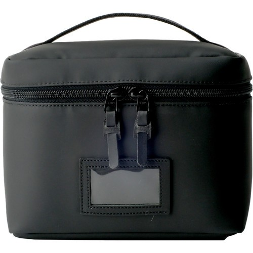 Artisan & Artist ACAM-63N Vanity Pouch with Top Handle (Black