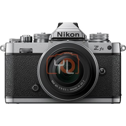 Nikon Z fc with 16-50mm Silver Kit