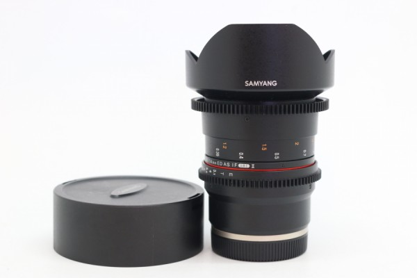 [USED-PUDU] SAMYANG 14MM T3.1 ED AS IF UMC II FOR SONY E-MOUNT  90%LIKE NEW CONDITION SN:BFP13581