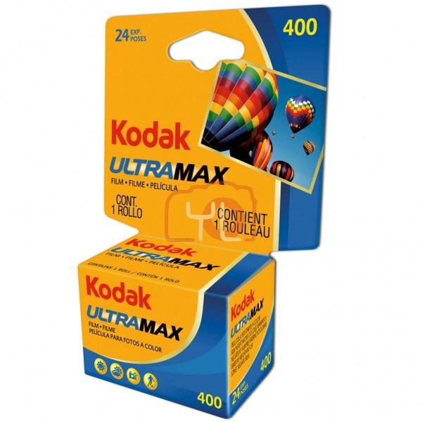 Kodak UltraMax 400 Color Negative Film (35mm Roll Film) - 24 Shots