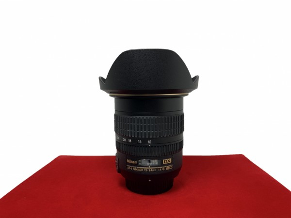 [USED-PJ33] Nikon 12-24MM F4 G DX AFS, 90% Like New Condition (S/N:315669)