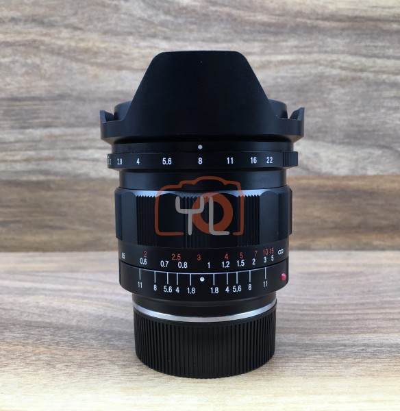 [USED @ YL LOW YAT]-Voigtlander 21MM F1.8 ULTRON VM Mount LENS,95% Condition Like New,S/N:8341073