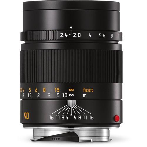 Leica 90mm F2.4 Summarit-M - Black (11684)