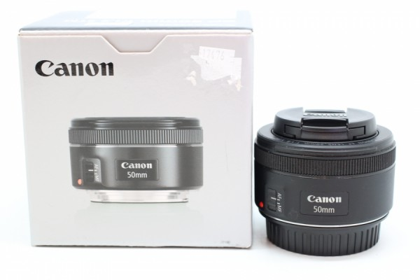 [USED-PUDU] Canon 50MM F1.8 EF STM 95%LIKE NEW CONDITION SN:5215330774