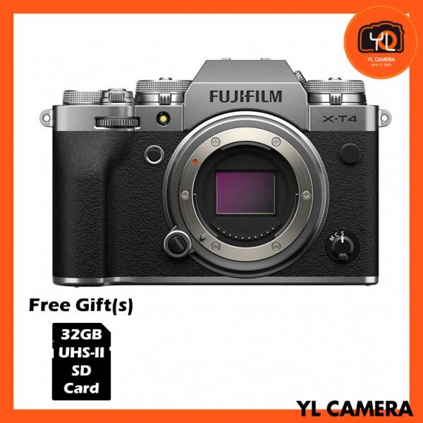 Fujifilm X-T4 - Silver