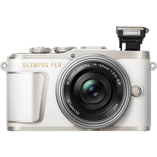 Olympus E-PL9 +  M.Zuiko 14-42mm EZ (White) [Free Lexar 32GB 95MB SD Card]
