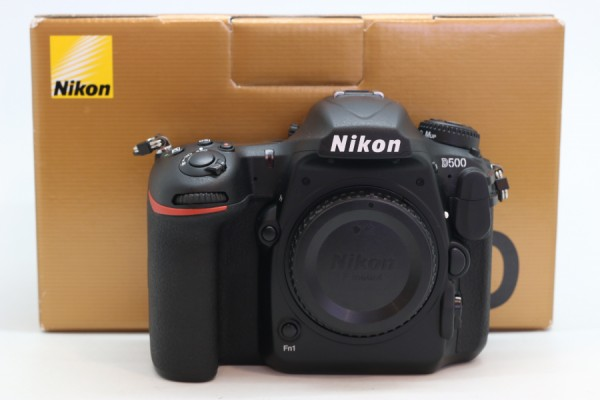 [USED-PJ33] Nikon D500 Body (SC:95k), 95% Like New Condition (S/N:2026152)