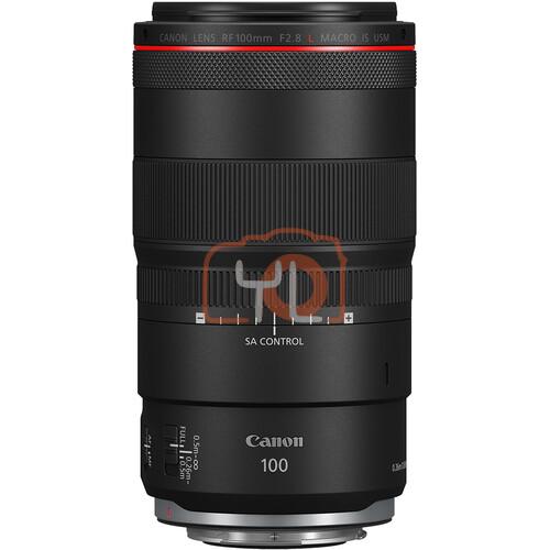 Canon RF 100mm F2.8L Macro IS USM Lens 4514C002 CA10028RF