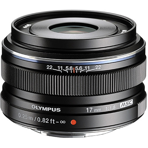 (Promotion) Olympus 17mm F1.8 M.Zuiko (Black)