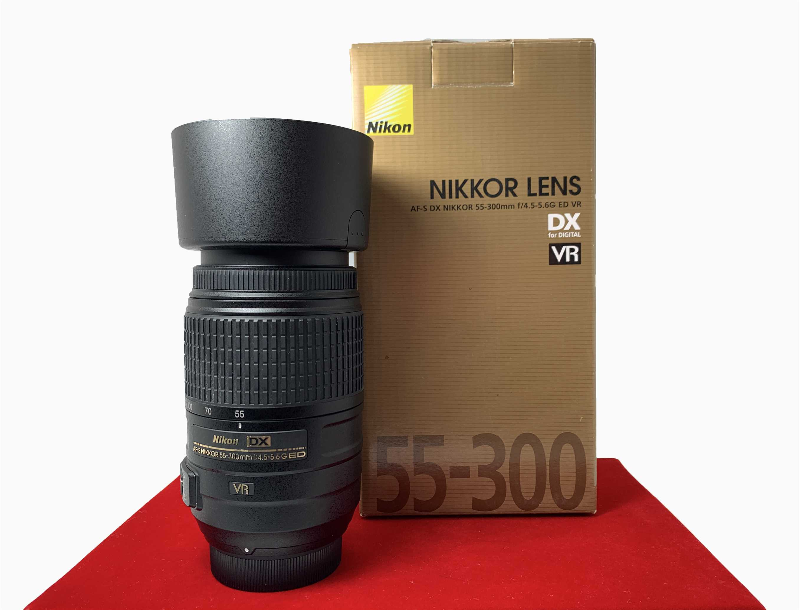 [USED-PJ33] Nikon DX 55-300mm F4.5-5.6G AF-S ED VR, 95% Like New Condition (S/N:2907043)