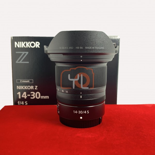 [USED-PJ33] Nikon 14-30mm F4 S Z Lens, 95% Like New Condition (S/N:20006675)