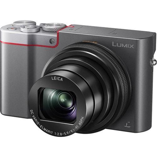 Panasonic Lumix DMC-TZ110 4K Compact Camera (Silver)