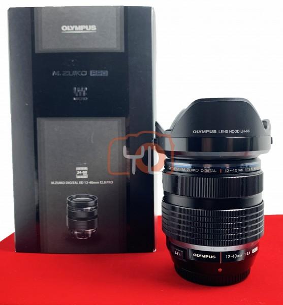 [USED-PJ33] Olympus 12-40mm F2.8 PRO M.Zuiko,95% Like New Condition (S/N:AC5A09825)