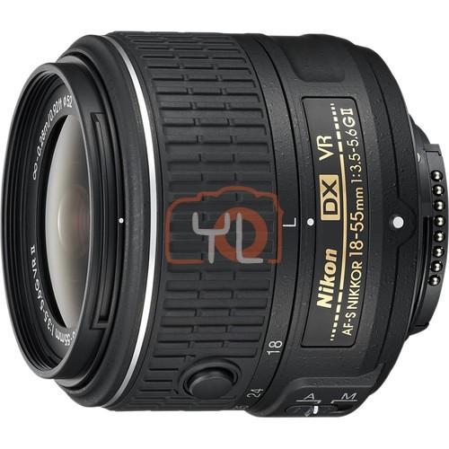 Nikon AF-S DX NIKKOR 18-55mm f/3.5-5.6G VR II Lens