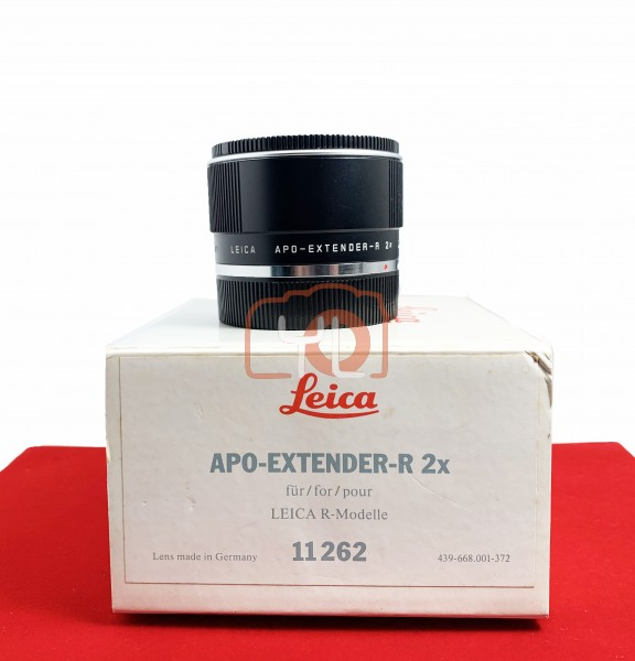[USED-PJ33] Leica APO-Extender-R 2X, 90% Like New Condition (S/N:3628532)